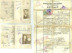 She'erit Ha-Pleita 3 Immigration Documents of a Romanian Jewish family 1950
