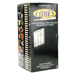 140mm Original Party Size Paper Pre Rolled Cones w 26mm Filter Tips 700 Box $135.00