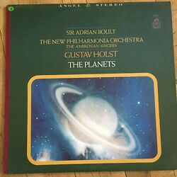 1967- HOLST: THE PLANETS SIR ADRIAN BOULT  THE NEW PHILHARMONIA ORCHESTRA