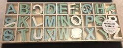 Wooden Letters by Typo BlueMint White