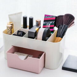 Creative Cosmetic Drawer Organizer Case Makeup Storage Durable Container Boxs