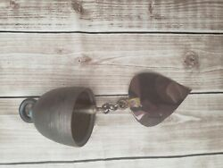 Design by Unseen Thailand Bronze Temple Bell Wind Chime Thailand Pattern Decor