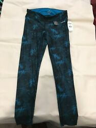 Ladies Blue Spalding Leggings Size S $10.00