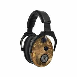 DUAL EARMUFFS 27DB KRYPTEK HIGHLANDER ENHANCED SOUND ACTIVATED (DAOESDMKHL)