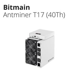 Bitmain Antminer T17 (40-42Th) with PSU - USA Seller Available Today