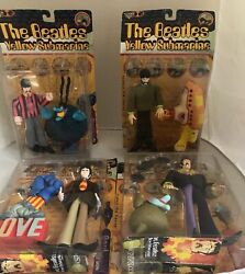 BEATLES YELLOW SUBMARINE MCFARLANE PAUL GEORGE JOHN RINGO 8