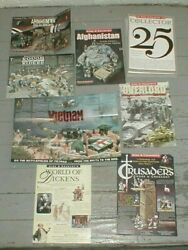 King and Country Brochures Lot amp; 25th Anniv Magazines Some Early $19.99