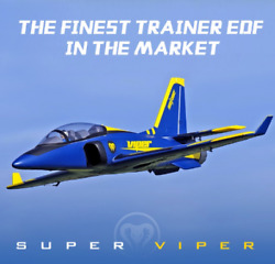 FMS RC Airplane 70mm Super Viper EDF Jet planes model PNP plane for adults NEW $394.00