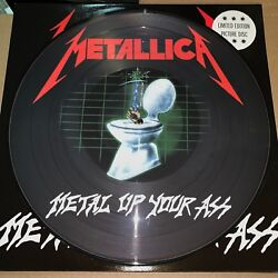 METALLICA METAL UP YOUR ASS 180 GRAM PICTURE DISC VINYL LP LIMITED EDITION