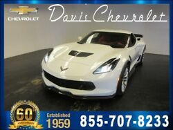 2019 Chevrolet Corvette -- 2019 Chevrolet Corvette  3 Miles Arctic White Coupe 6.2L 8 Cyl. 8 Speed Paddle S
