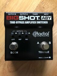 Radial BigShot ABY True-Bypass Amplifier Switcher