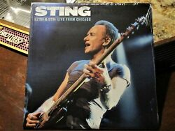 STING 57th & 9th Live From Chicago SEALED FAN CLUB EXCLUSIVE VINYL ALBUM - RARE!