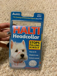 HALTI Headcollar size 0 - Black No Barking Dog Small $6.99