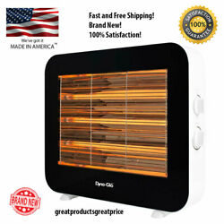 New 1500Watt Infrared Electric Quartz Portable Space Radiant Heater White Indoor $72.99
