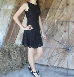 Size 3 black homecoming party evening dress $25.00