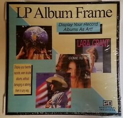 """LP Album Frame for Vinyl Records 12.5"""" X 12.5"""" Structural Industries **NEW**"""