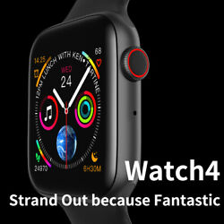 W43 Smart Watch Series 4 Style Bluetooth 44mm Heart Rate Monitor For IOS Android