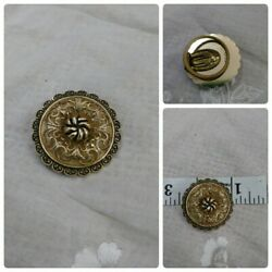 Nice 1960's Vintage Signed WEST GERMANY Scarf ClipMoney Clip Gold Tone Filigree $9.99