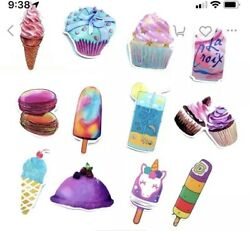 72 Pack Stickers for Water Bottles Hydro Flasks for Teens Girls