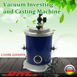 500W Wax Injector Jewelry Tool 2.5kg Wax Injector Vacuum Investing and Casting