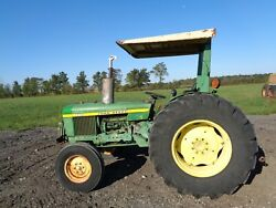 1978 John Deere 2240 Tractor 2WD OROPS w Sunshade 1 Remote Showing 2398HRS