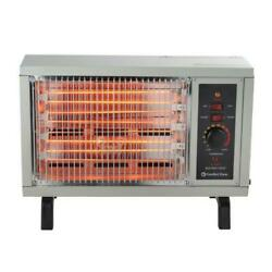 1500W Portable Radiant Electric Heater Automatic Thermostat Fan Forced Warmer $49.99