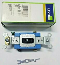 Leviton 3 Way Key Lock Switch 1203 2l
