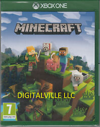 Minecraft Xbox One Physical Game Brand New Factory Sealed $29.99
