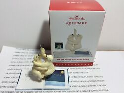 ON THE NIGHT YOU WERE BORN HALLMARK ORNAMENT 2015 STORYBOOK