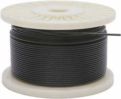 Vinyl Coated Stainless Steel 304 Cable Wire Rope 7x7 Black 116