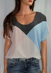 EQUIPMENT Etta Polka Dot Silk Blouse Size Medium