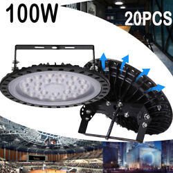 20x100W UFO LED High Bay Light Factory Warehouse Industrial Commercial Work Lamp $566.99