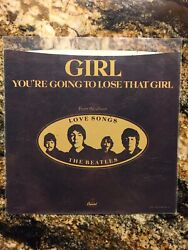 Beatles Picture SLEEVE ONLY You're Going To Lose that Girl bw Girl 7