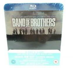 Band Of Brothers Complete Series Commemorative 6 Disc Gift Set Tin Box Blu Ray