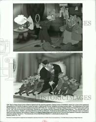 1992 Press Photo Scenes from The Adventures of the Great Mouse Detective