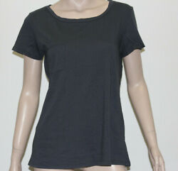 JAMES PERSE womens pocket tee's short sleeve combed cotton Navy size 3 $24.99