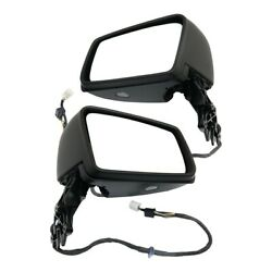 2188100476 2188100376 Set of 2 Mirrors Left-and-Right Heated for Mercedes Pair