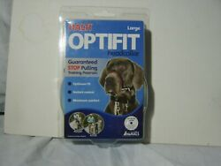HALTI OPTIFIT HEADCOLLAR SIZE LARGE FOR DOGS NEW IN PACK WITH VIDEO :B19-1