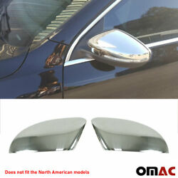 Fits VW CC 2009 2015 Chrome Side Mirror Cover Cap Stainless Steel 2 Pcs $79.90