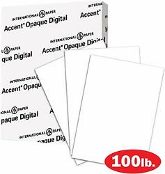 Thick Cardstock Paper White 100lb 271gsm 8.5 x 11 97 Bright 200 sheets $18.99