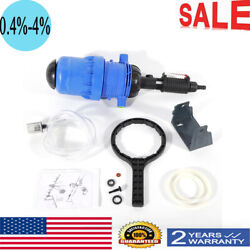 Water driven Chemical Fertilizer Injector Water Proportional Dosing Pump $72.02