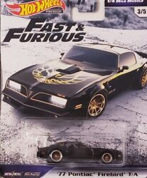 2019 Hot Wheels Fast + Furious '77 Pontiac Firebird Trans Am  Premium Edition!