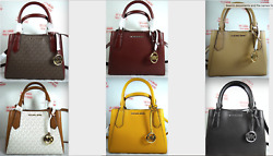 Michael Kors Kimberly Small Satchel Crossbody Messenger Bag in Various Colors