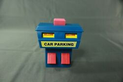 Vintage Mattel Car Parking Booth Sign Playset Accessory 3.5quot; $3.99