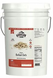 Augason Farms Rolled Oats Emergency Food Supply 216 Servings 20 Pound Pail