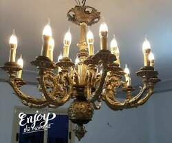 antique french chandelier restored to the original condition 20 arms 20 light