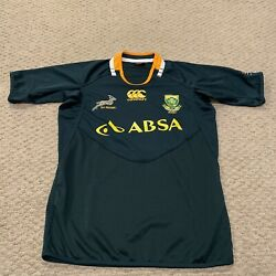 South Africa SA Rugby National Team CCC Canterbury Jersey Mens Medium