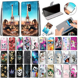For LG Stylo 5 Stylo 4 K10 K9 K8 PU Leather Wallet Phone Case Cover Flip Stand $7.73