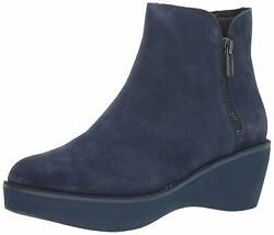 Kenneth Cole Reaction Womens Prime Closed Toe Ankle Fashion Navy Size 8.5 B4RL