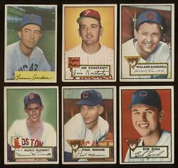 1952 Topps #127 Minner in VgEx-Ex condition